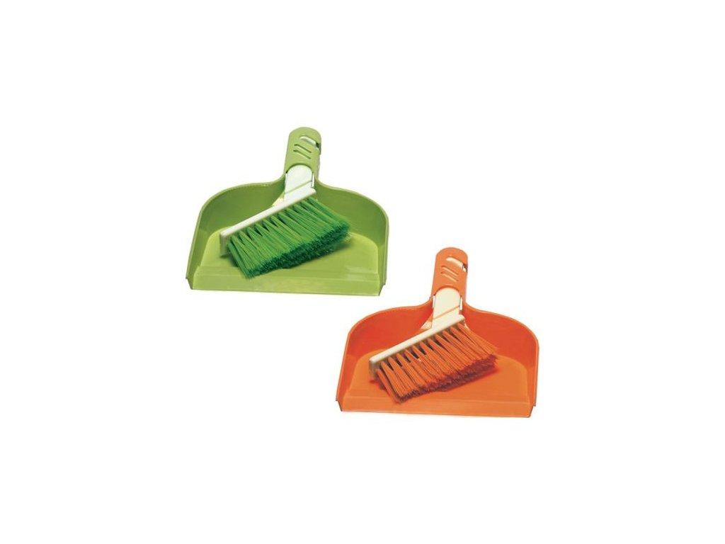 Smetáček+ Lopatka MINI 23,5x16,522x2,5 cm chlup 5 cm plast