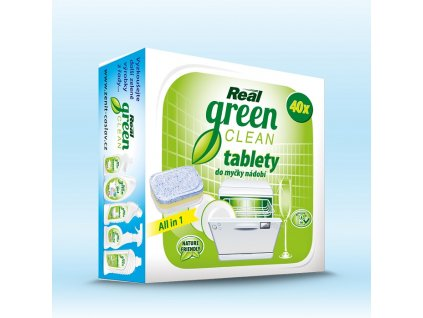 real green clean tablety do mycky 40ks