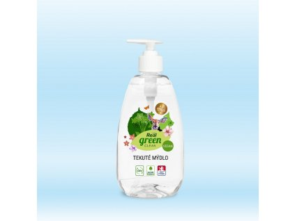 Real green clean tekute mydlo 500g