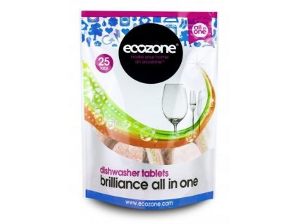 ecozone tablety do mycky 5v1 25ks