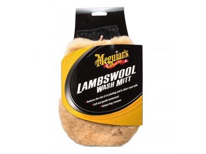 meguiars lambswool wash mitt myci rukavice z prave jehneci vlny