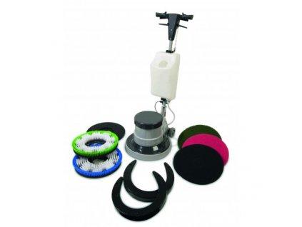 jednokotoucovy myci drhnouci a brousici stroj