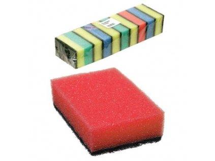 Houbičky barevná - standardní balení 10 ks 8x5x3 cm polyuretan