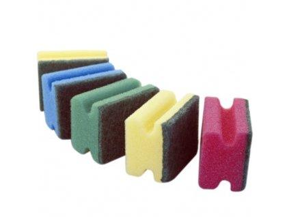 Houbička tvarovaná sada 5 ks 8x6x4 cm polyuretan