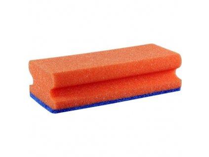 Houba GASTRO tvarovaná na teflon červenámodrá balení 5 ks 15,5x7x4,5 cm polyuretan