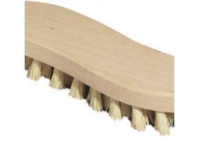 Kartáč na podlahu 21x5 cm dřevo, plast