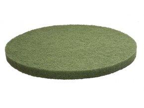FIBRATESCO Zelený nylonový pad
