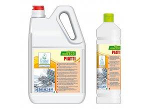 Interchem - VERDE ECO PIATTI - detergent pro ruční mytí nádobí