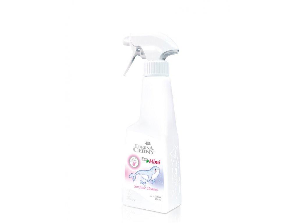 EcoMimi - Šetrný čisticí prostředek na hračky a dětské povrchy, 250 ml