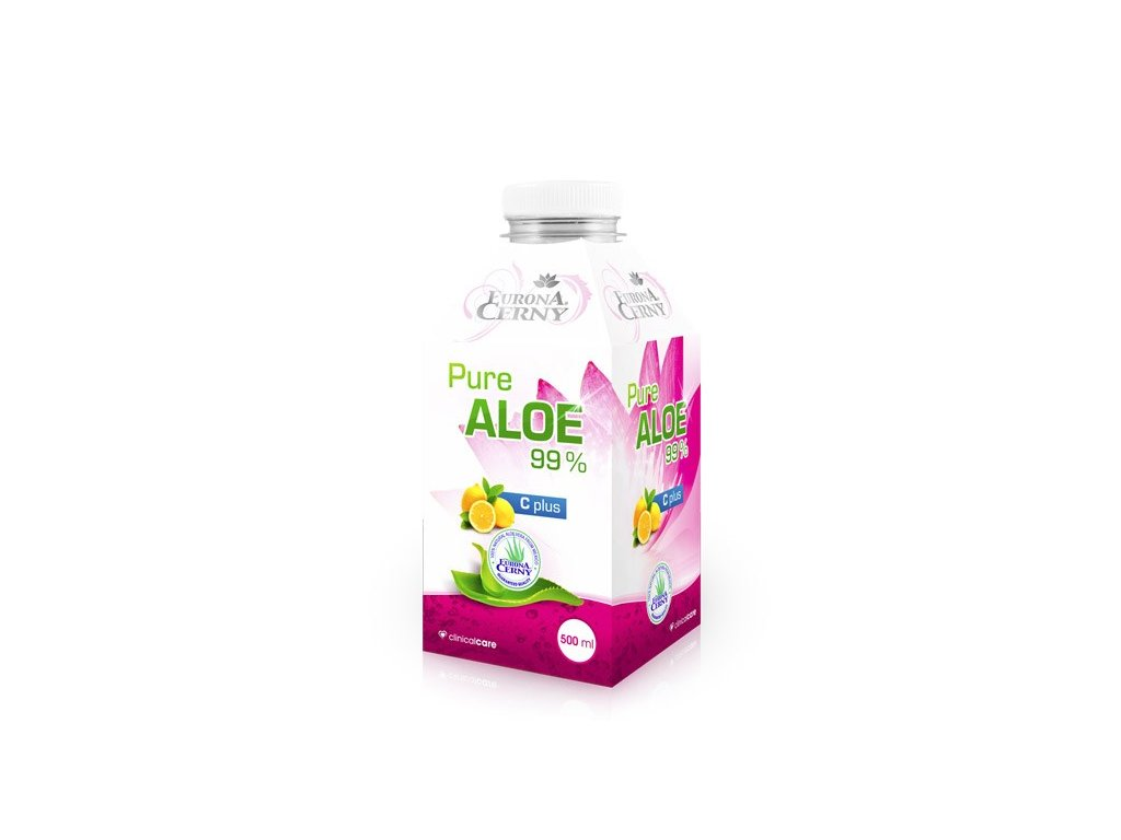 99% Aloe vera gel - UP s vitaminem C, 500 ml