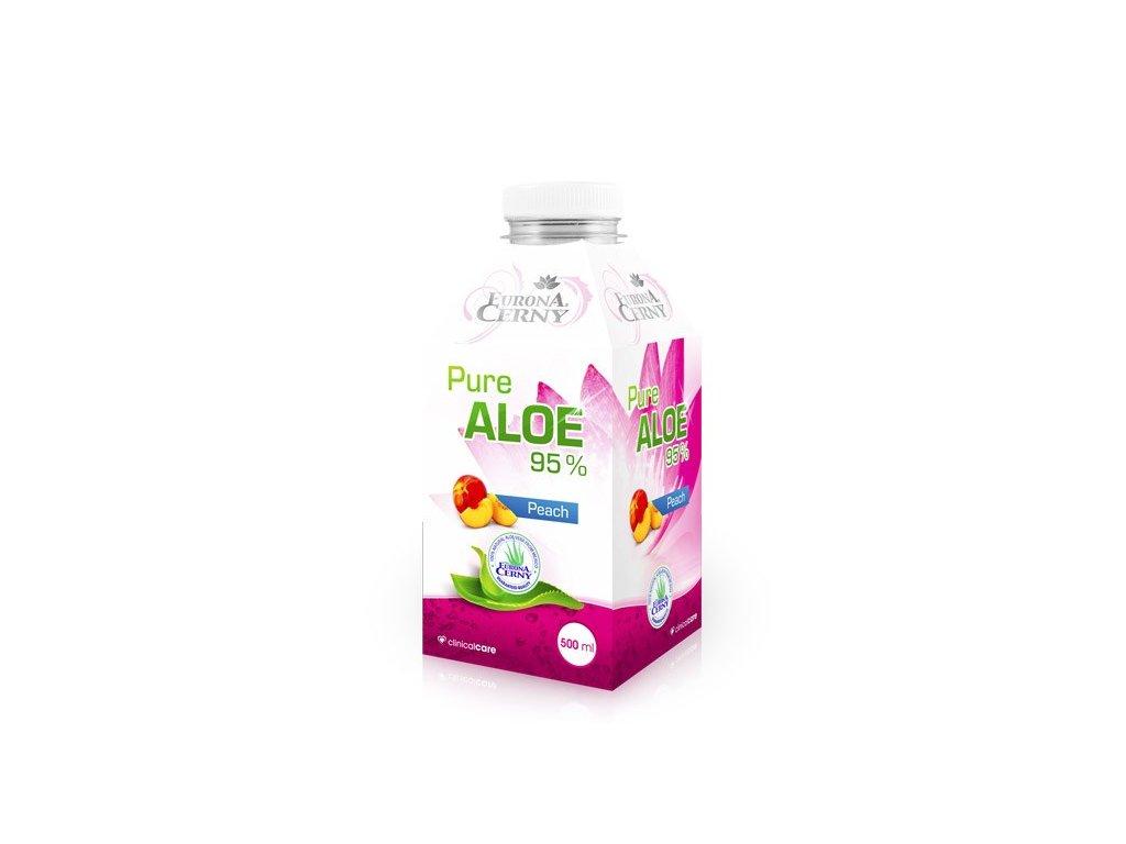 95% Aloe vera gel - UP s broskví, 500 ml