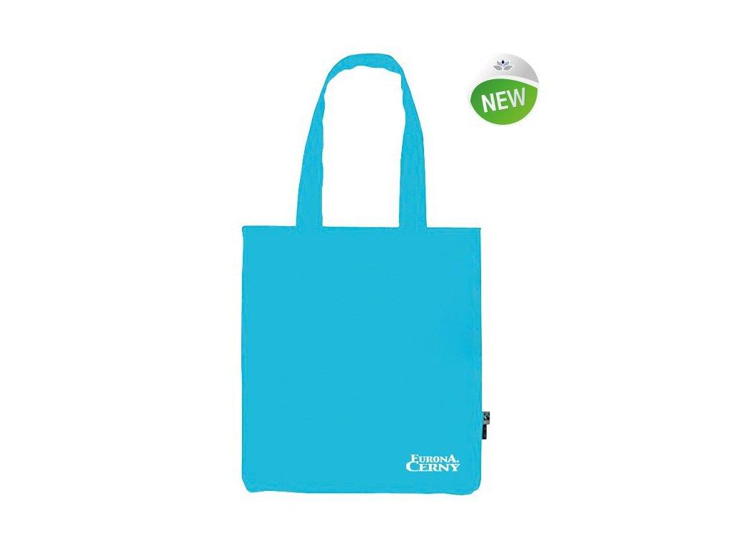 BIO Bavlněná taška Eurona by Cerny Turquoise