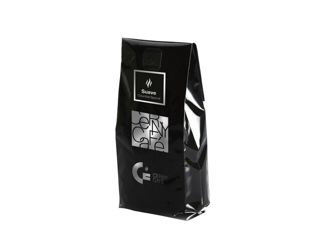 Mletá výběrová káva Cerny Café - 100% Arabica Columbia Special Suave, 200 g