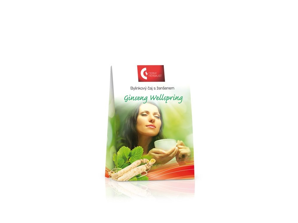 Bylinkový čaj s ženšenem - Ginseng Wellspring, 40 g