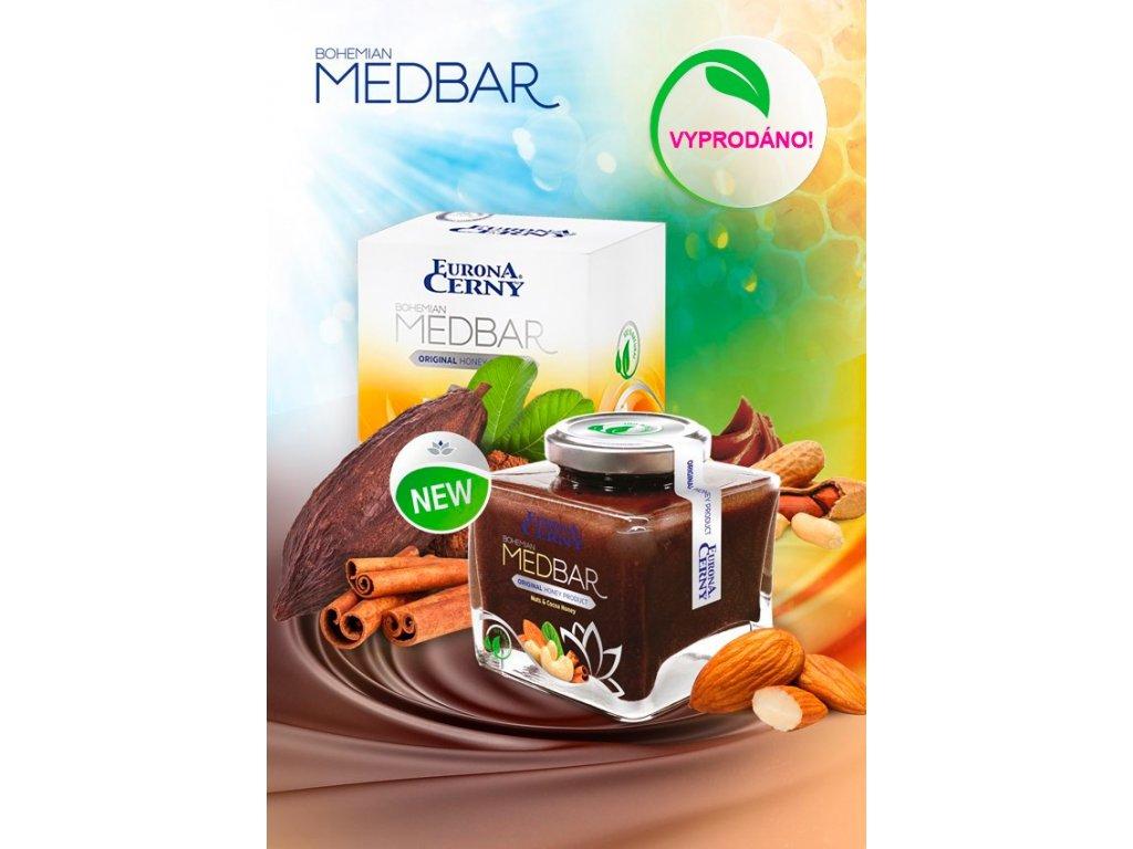 MEDBAR Medulenka oříšková, 240 g