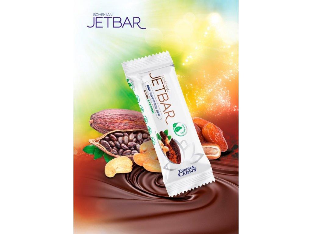 JETBAR RAW Kakao & kešu, 42 g
