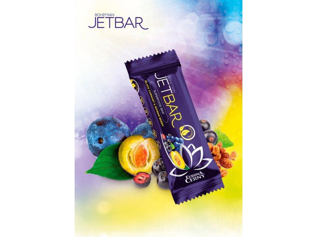 JETBAR Blackfest - Černý rybíz & aronie, 42 g