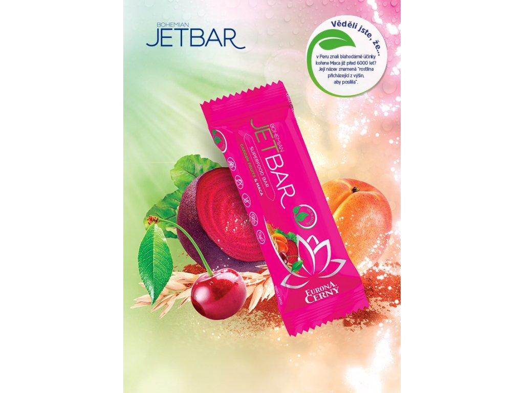 JETBAR BIGBEET! Zahradní plody & Maca, 42 g