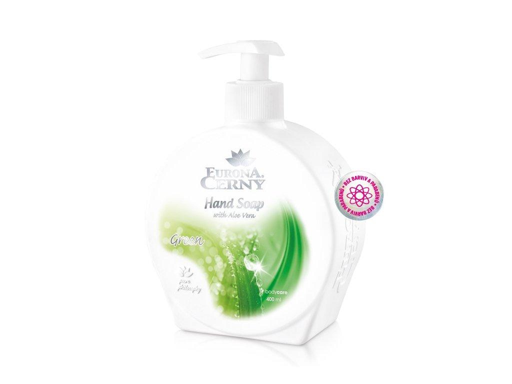 Tekuté mýdlo s Aloe vera - Zelená, 400 ml