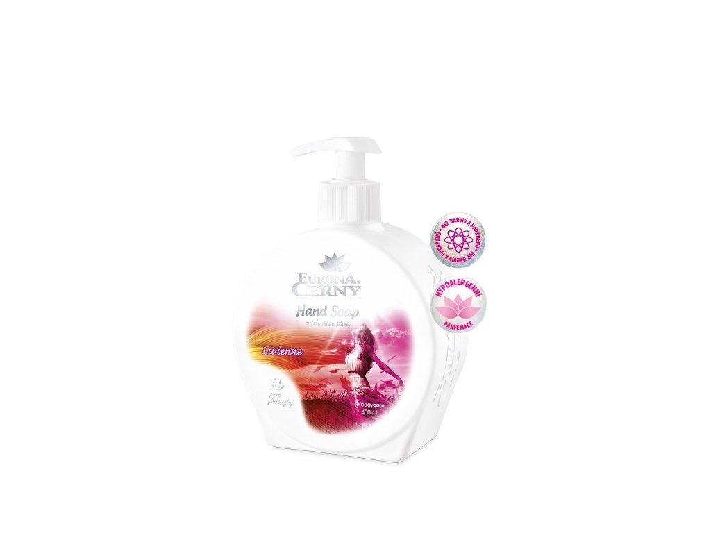Tekuté mýdlo s Aloe vera - Livienne, 400 ml