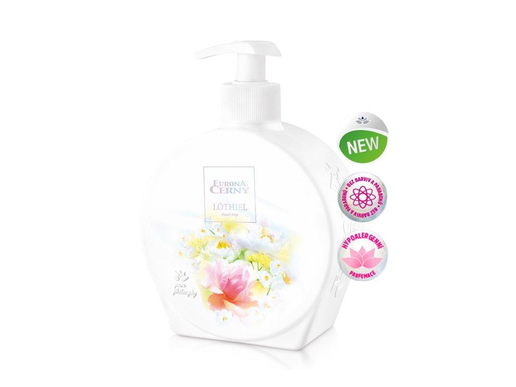 Tekuté mýdlo s Aloe vera - LÓTHIEL, 400 ml