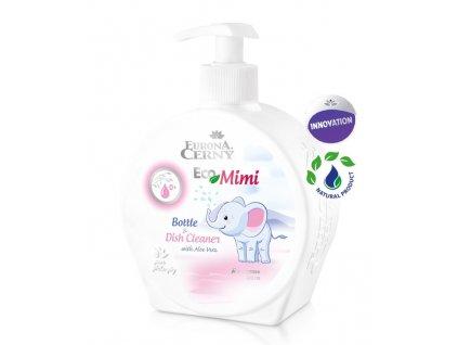 EcoMimi - Šetrný gel na mytí dětského nádobí, kojeneckých lahví a dudlíků, 400 ml