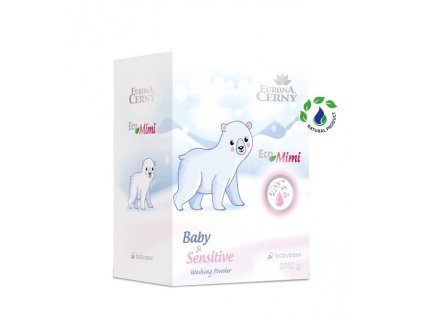 Eco Mimi 0+ Jemný prací prostředek pro miminka, 2 750 g