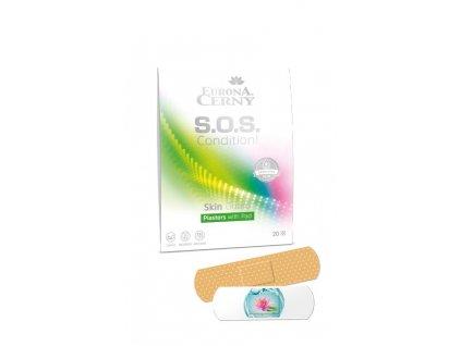Skin Guard Ochranné náplasti s polštářkem, 20 ks