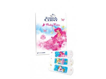 Ochranné náplasti s polštářkem - Pinky Frou, 18 ks