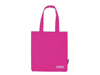 BIO Bavlněná taška Eurona by Cerny Pink