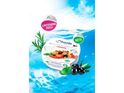 Salátek s lososem ChilliMix, 160 g