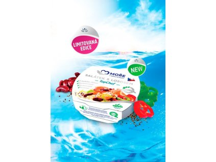 Salátek s lososem TopChef, 160 g