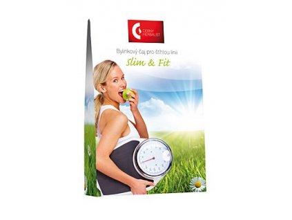 Bylinkový čaj pro štíhlou linii - Slim & Fit, 40 g