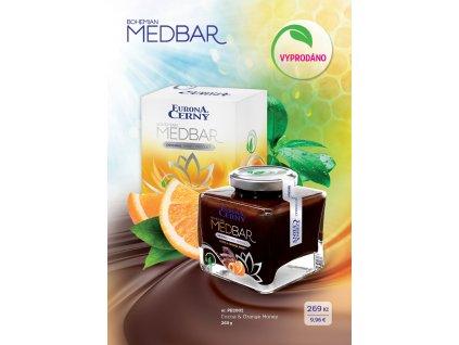 MEDBAR Medulenka s pomerančovou silicí, 260 g