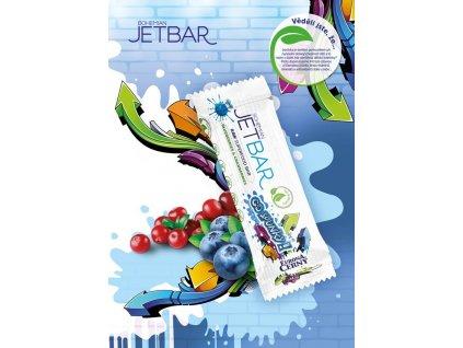JETBAR GO SPUNKY! - Borůvky & brusinky, 42 g
