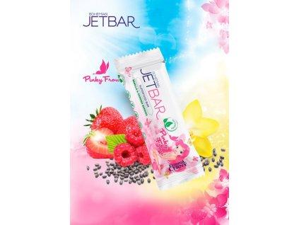 JETBAR Pinky Frou - Vanilka & letní plody, 42 g