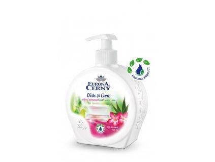Gel na ruční mytí nádobí s Aloe vera - Květinová romance, 400 ml