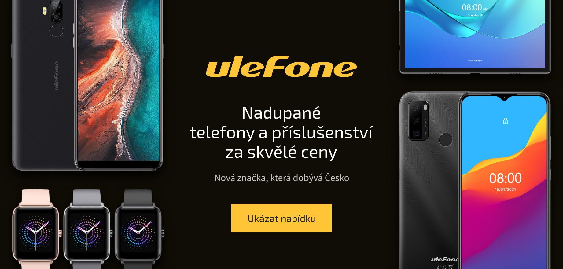 Nadupané telefony