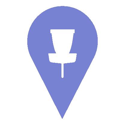 Mapa DiscGolfových hřišť v ČR