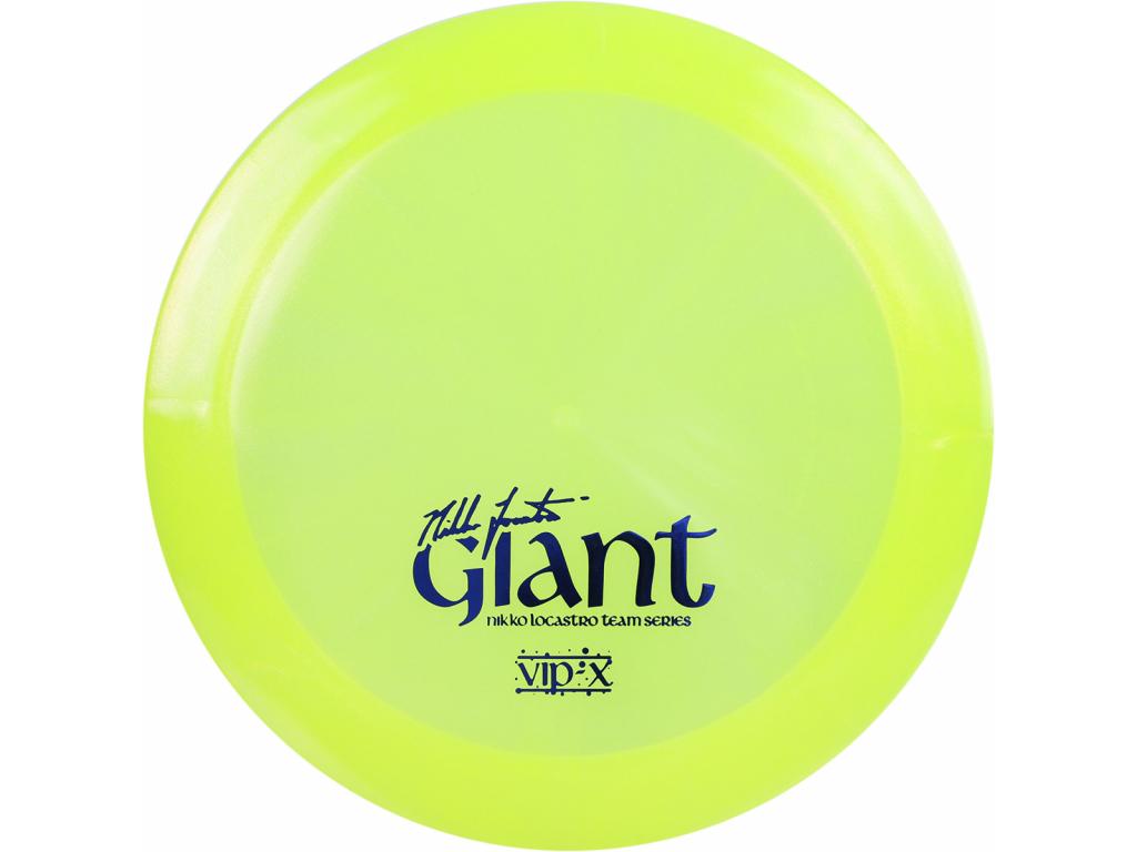 Vip X Glimmer Giant TS Nikko Locastro V1 Yellow