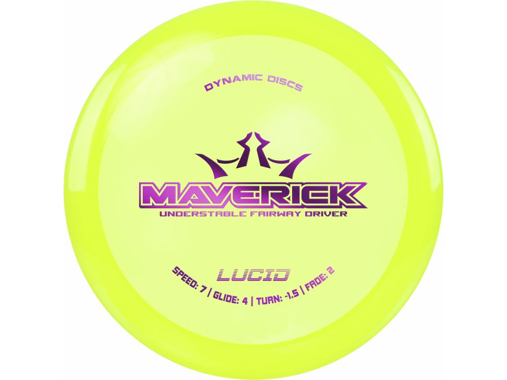 Lucid Maverick Yellow