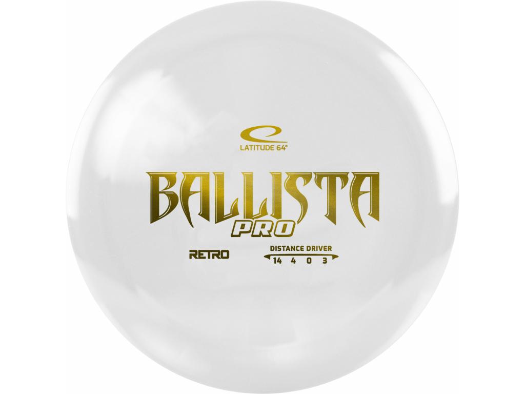 Retro Ballista Pro White 2020
