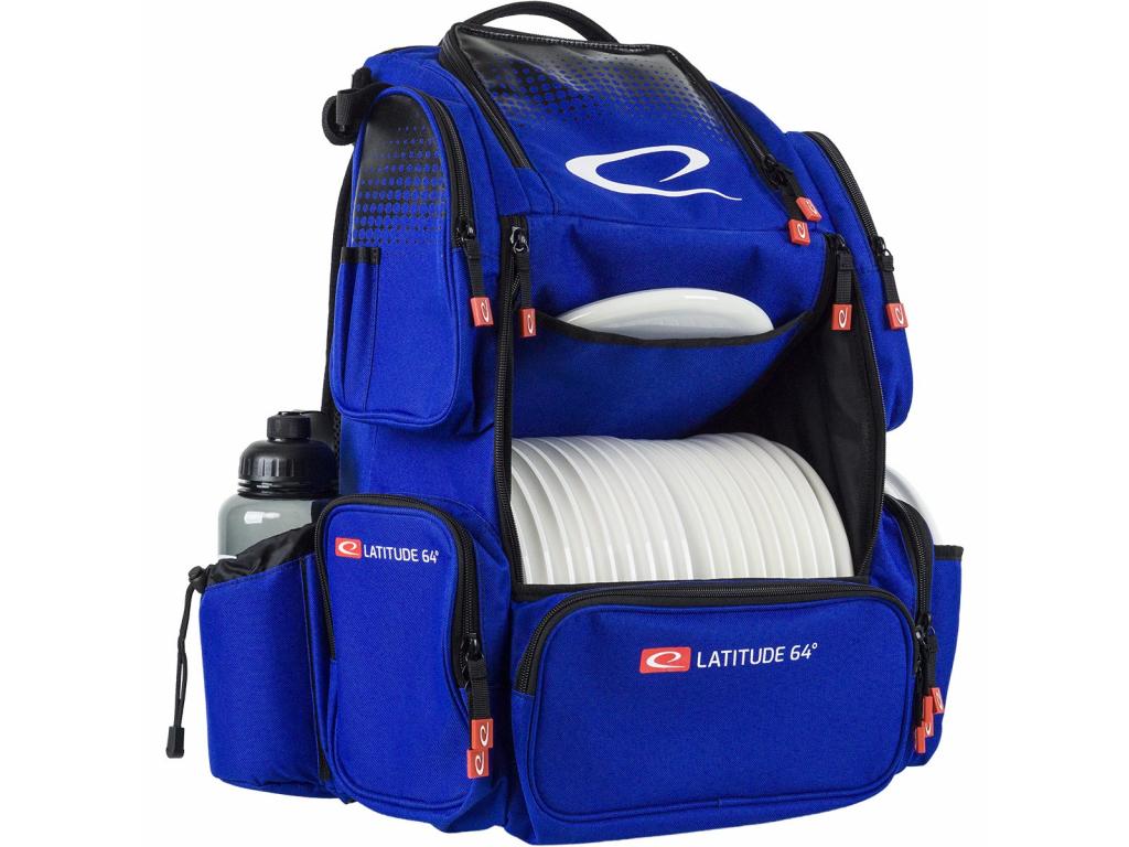 800 luxury backpack e4 modry