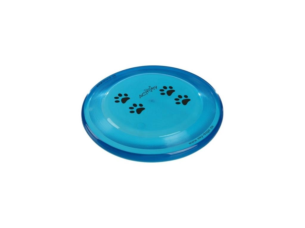 2072 dog activity disc 19 cm modry