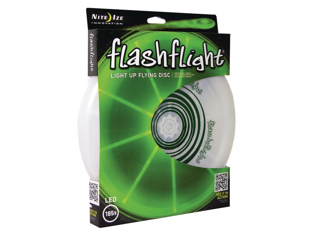 4997 svitici frisbee flashflight zeleny