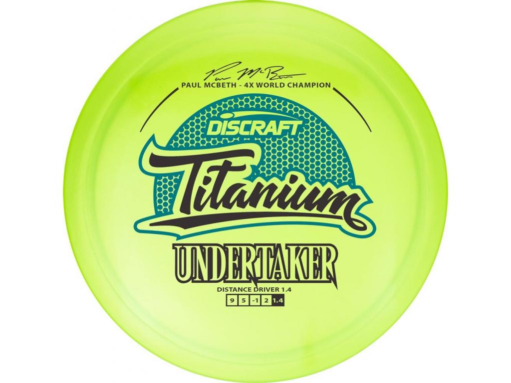 2258 undertaker titanium