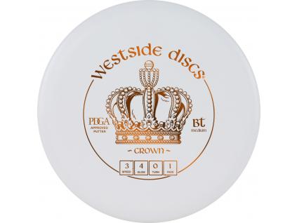BT Medium Crown White