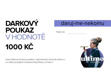 3971 darkovy poukaz na 1000 kc