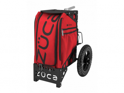 5180 4 zuca disc golf cart infrared black