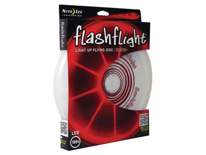 4991 svitici frisbee flashflight cerveny